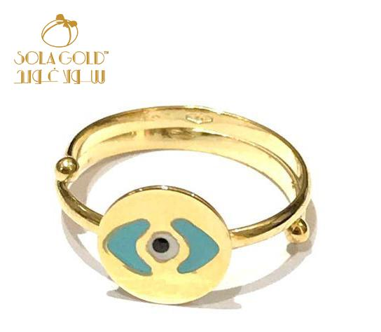 REAL GOLD BABY RING 18K (SIZE: 2)
