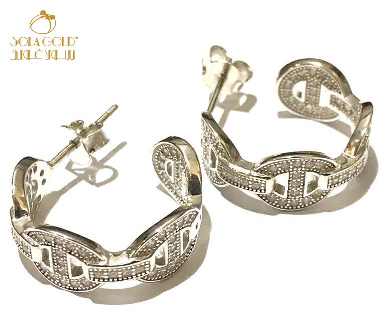 REAL SILVER EARRING 925