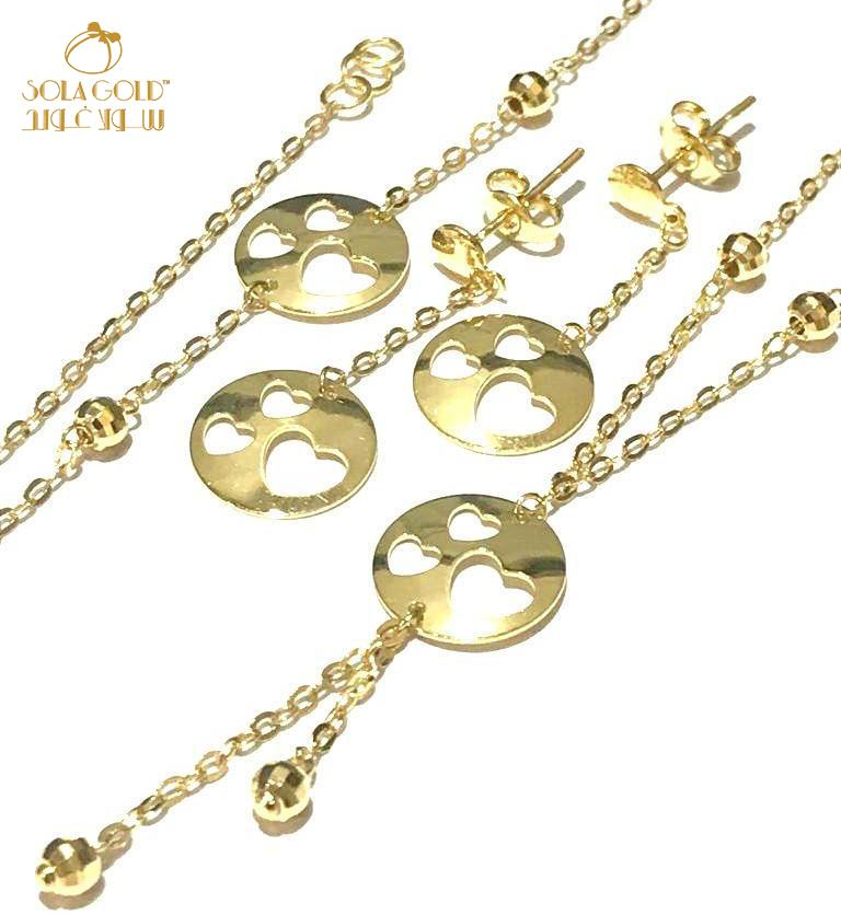 REAL GOLD SET 18K