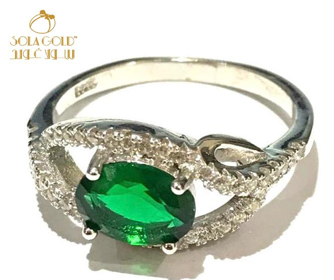 REAL SILVER RING 925 (SIZE-8.5)