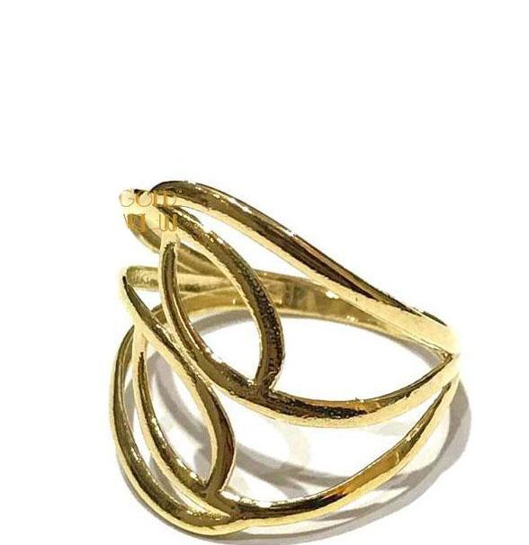 REAL GOLD RING 18K (SIZE: 7.5 )