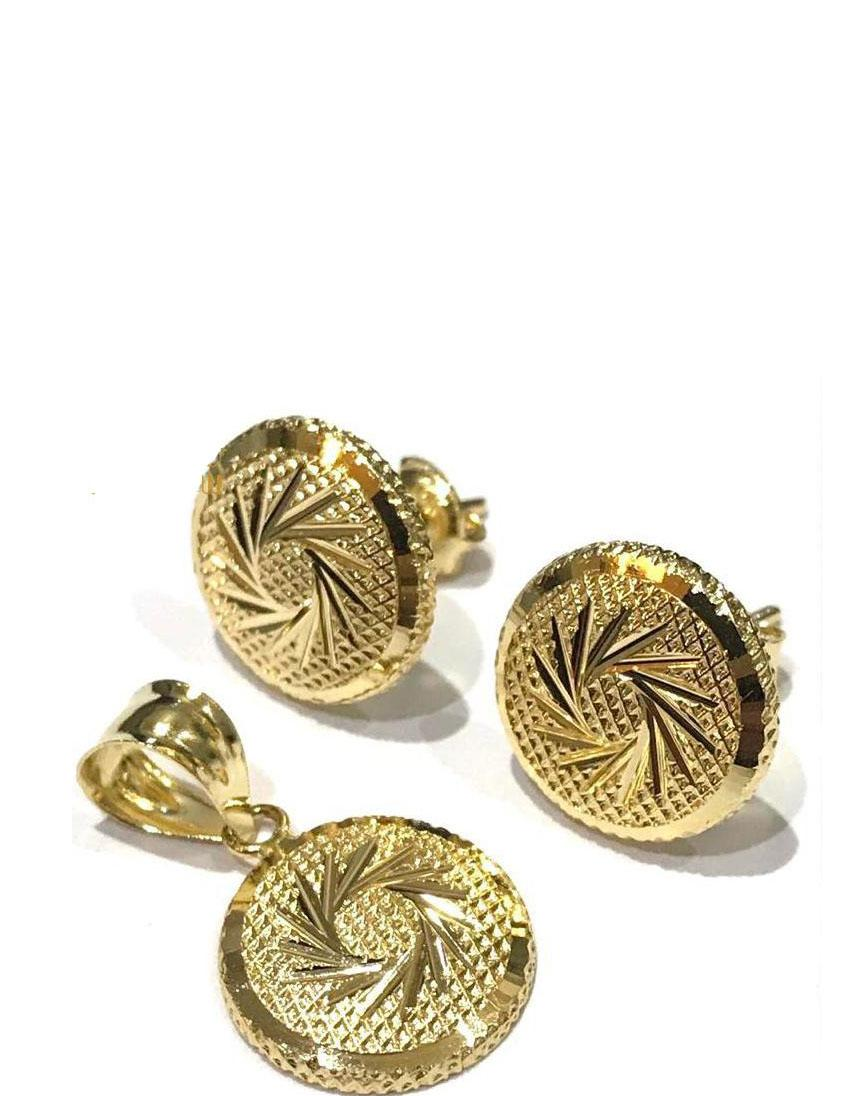 REAL GOLD HALF SET 18K