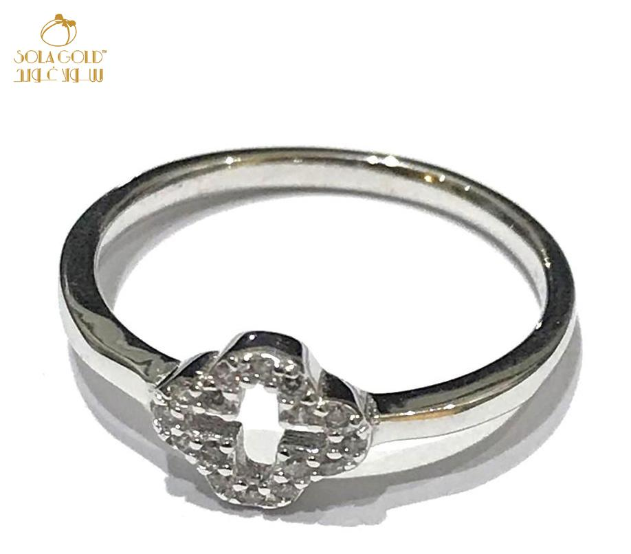 REAL SILVER RING 925 (SIZE- 6.5)