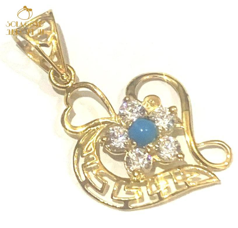 REAL GOLD PENDANT 18K