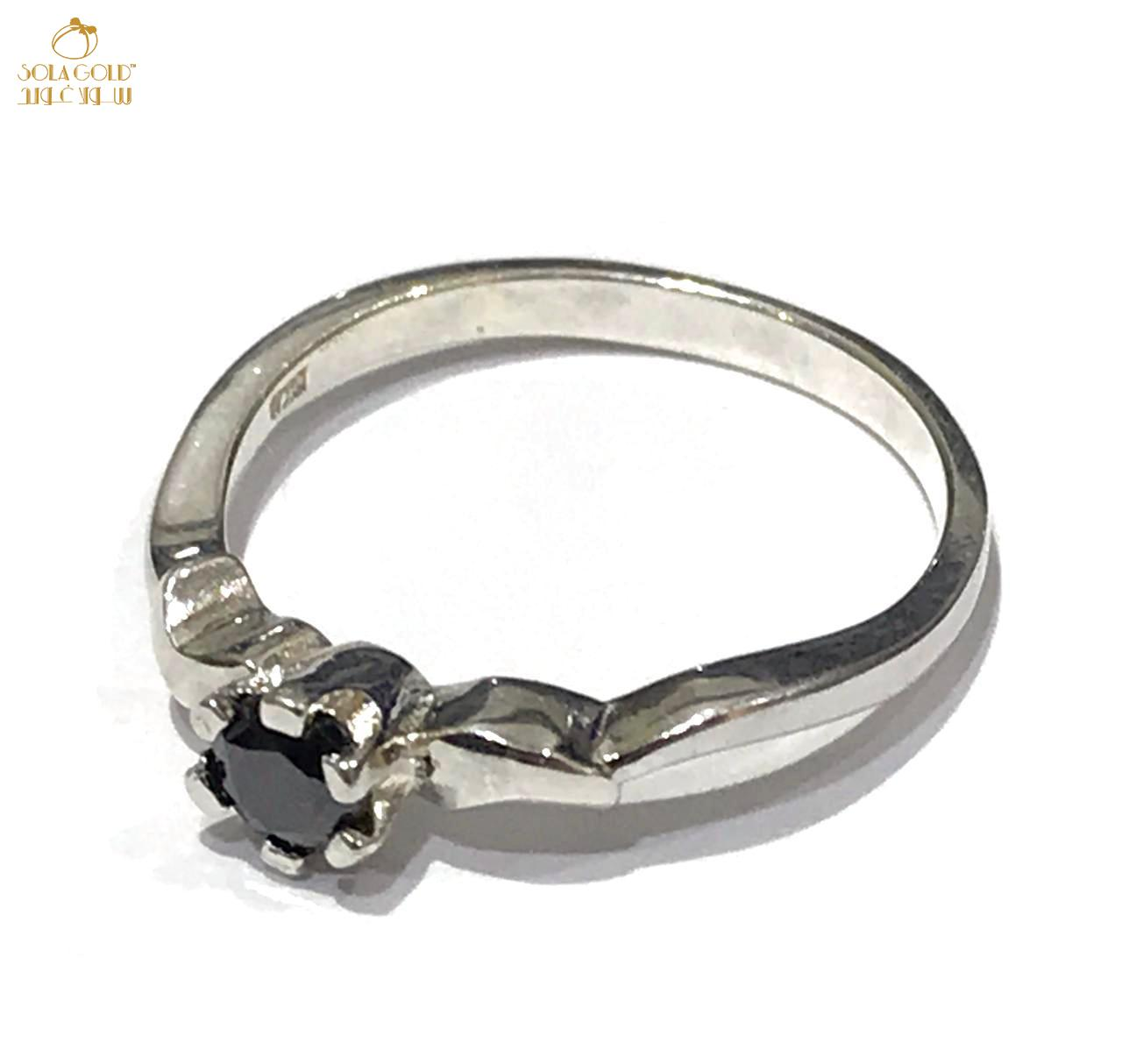 REAL ITALIAN SILVER RING 925 (SIZE: 6.6)