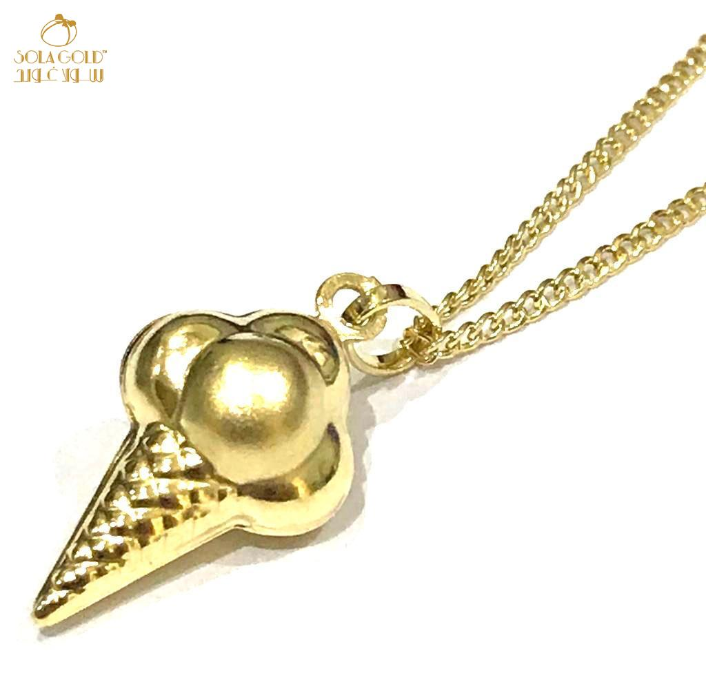 REAL GOLD NECKLACE 18K