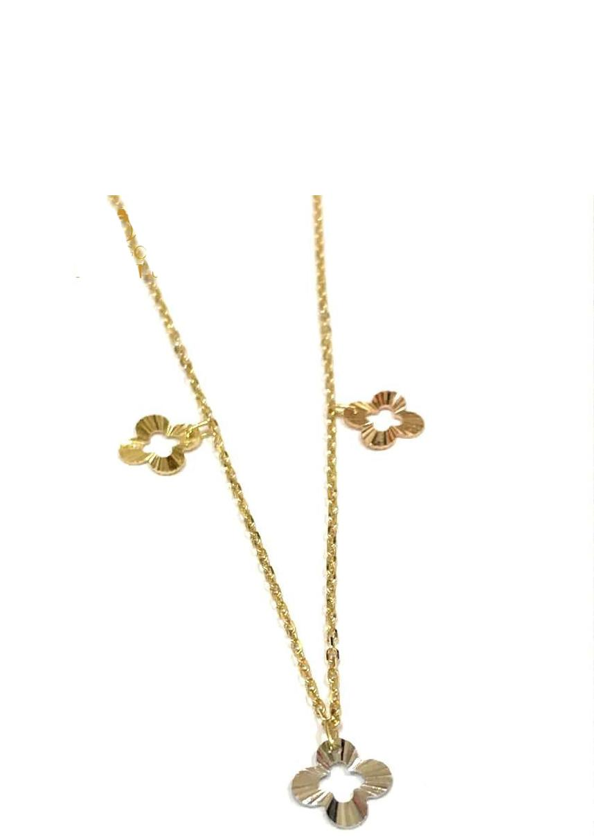 REAL GOLD CHOKER  NECKLACE 18K