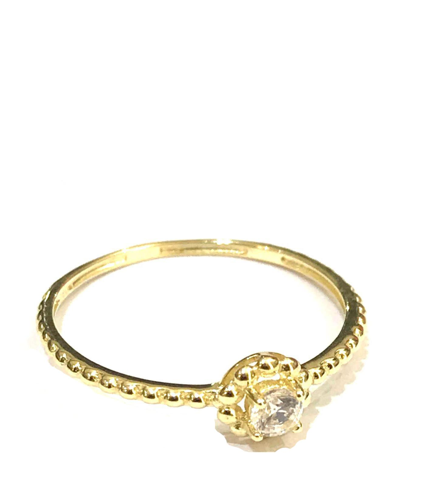 REAL GOLD RING 18K (SIZE:6)