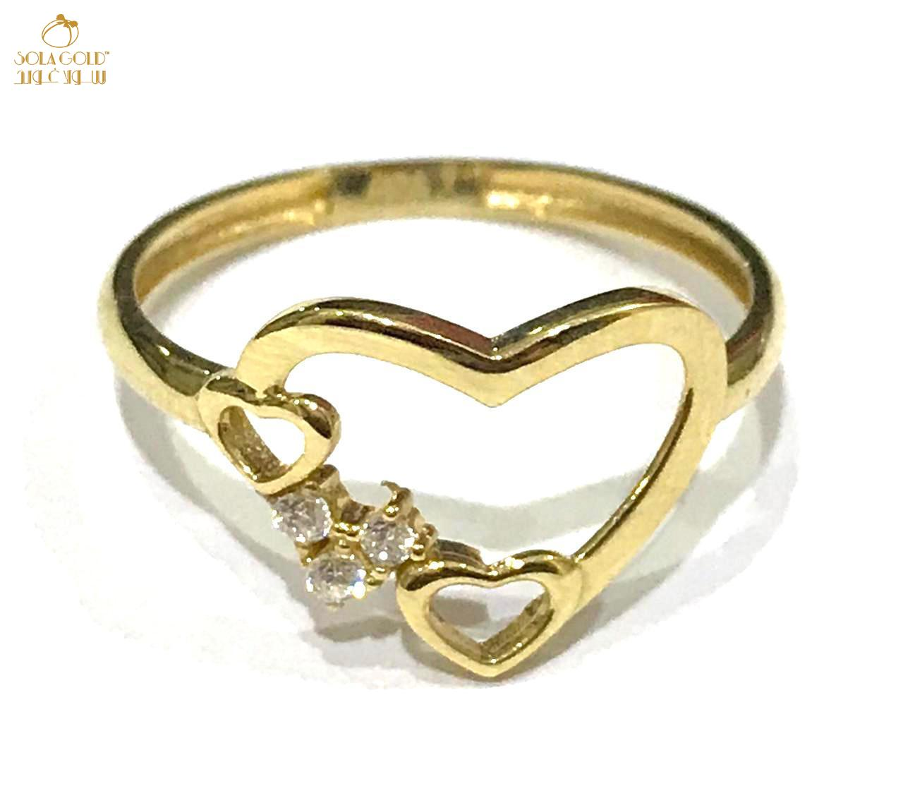 REAL GOLD RING 18K (SIZE: 6.2)